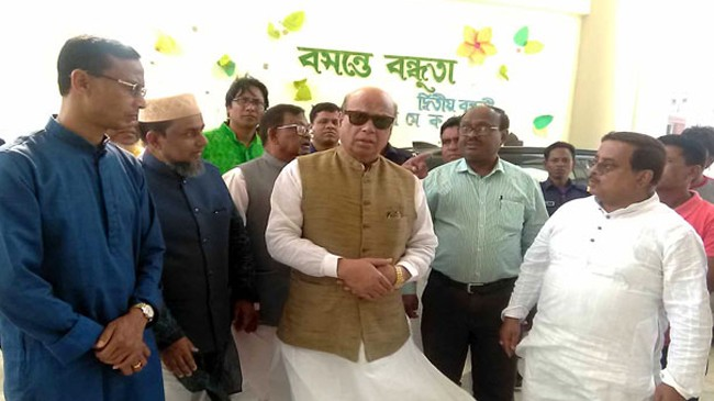 bnp political insolvency is not celebrating mujib year