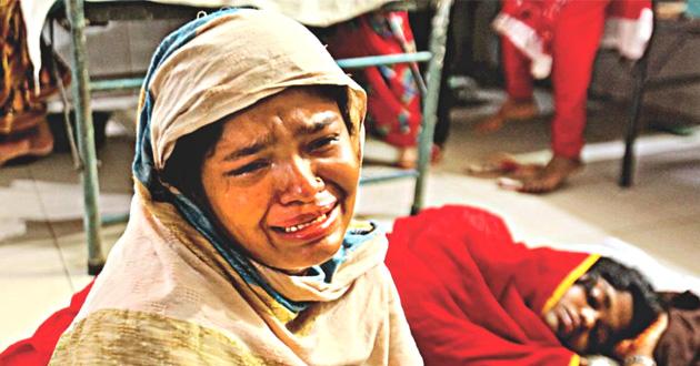 crying rohingya