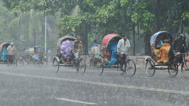 drizzle rains in dhaka