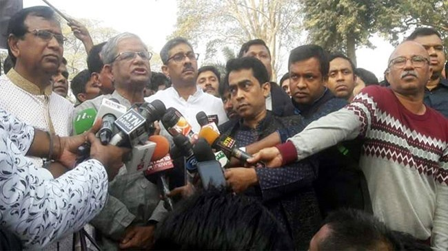 mirza fakhrul and bnp leaders