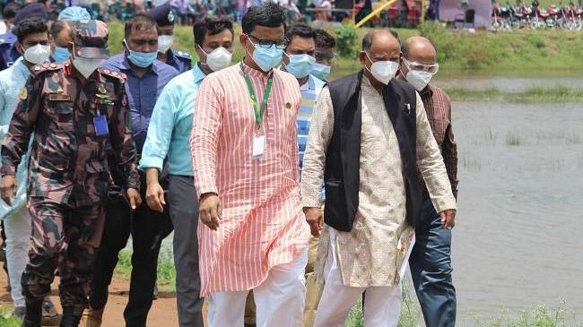 rail minister sujon dinajpur