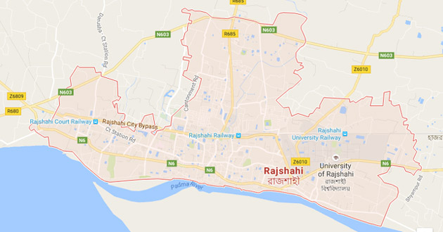 rajshahi map