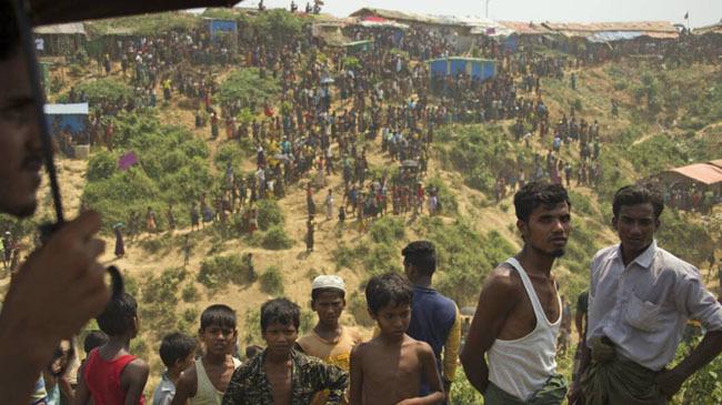 rohingya camp in coxs bazar