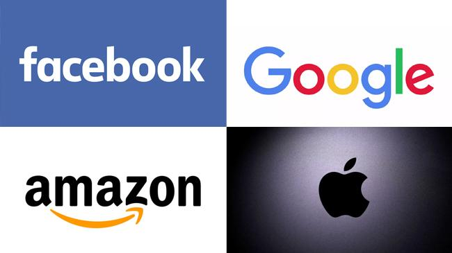 facebook google amazon apple
