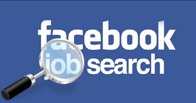facebook job search