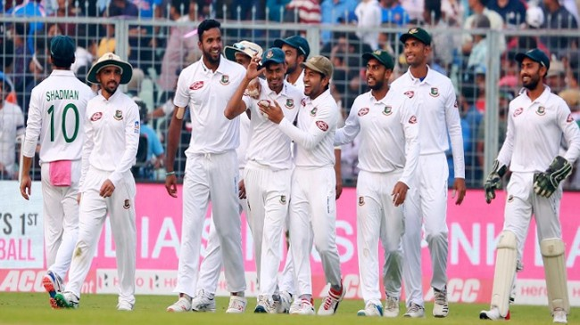 bangladesh test team india