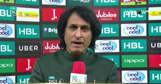 cricket commentator and former pakistan team captain ramiz raja