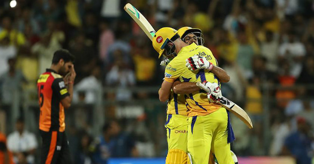 csk beats srh to go to final of ipl 2018