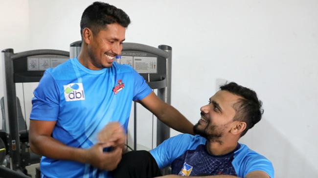 mashrafe with ashraful