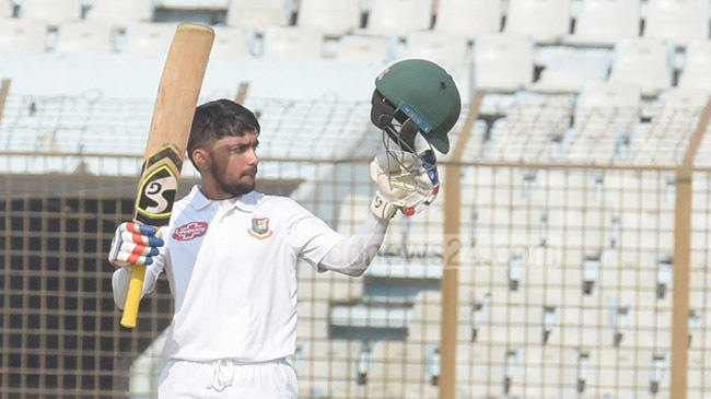 mominul haque 157 not out