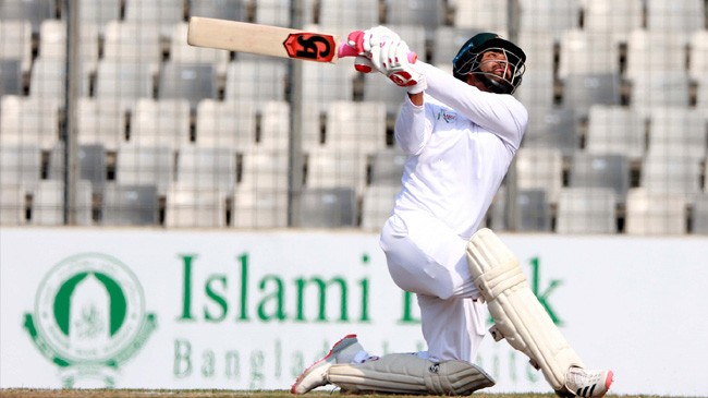 tamim iqbal whacks it over the top