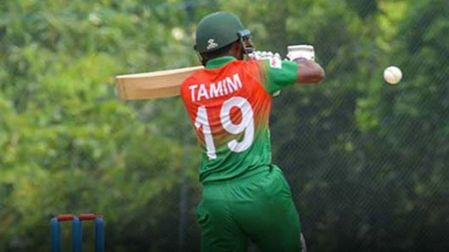 tanzid hasan tamim batted well