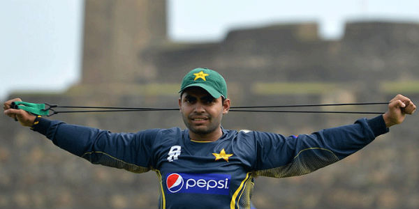 umor akmal banned for one match
