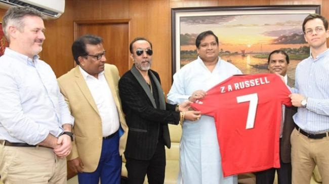 manchester united will come to dhaka