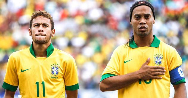 ronaldinho and neymar new