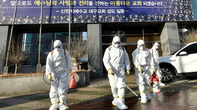 corona infected died in south korea
