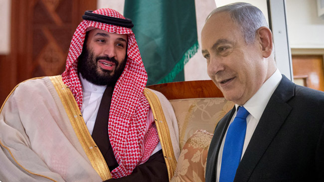 saudi prince and netanyahu