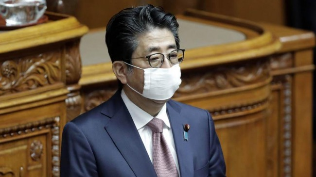 shinzo abe announced japan a state of emergency