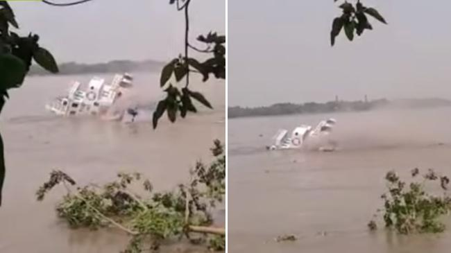 ship sank in hugly river
