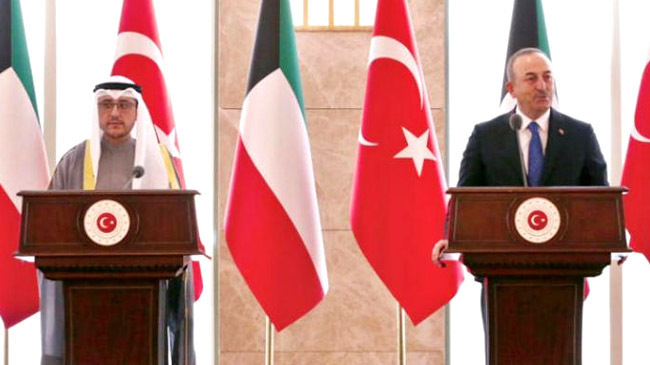turkey and kuwait foreign minister
