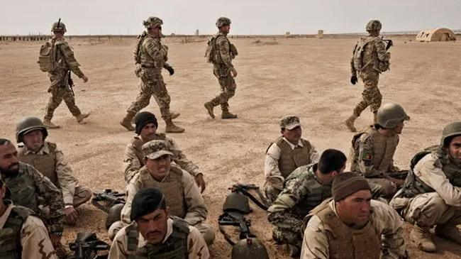 us troops in afganistan